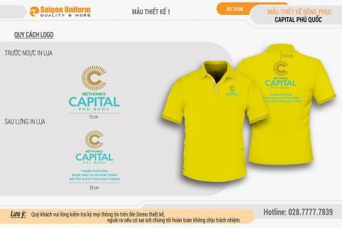 Áo thun đồng phục Capital