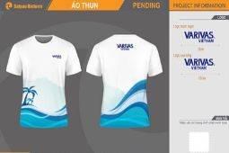 May áo thun team building Varivas